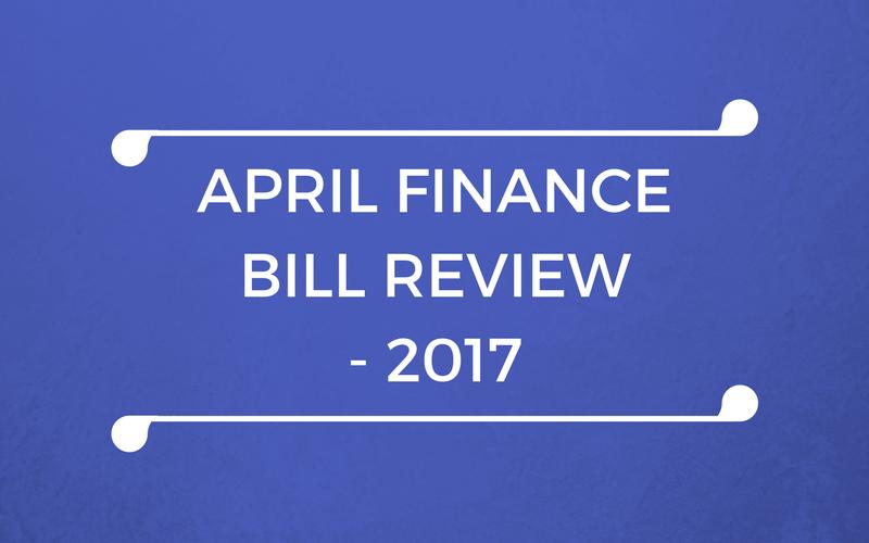 April Finance Bill Review